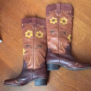 Lucky Brand Cowgirl Western Boots